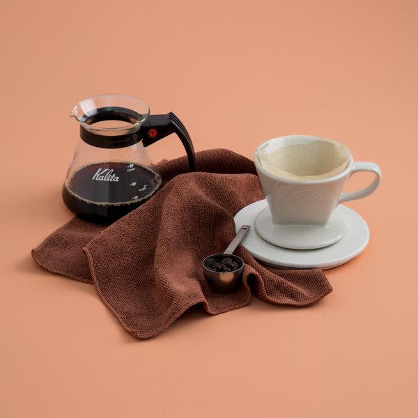 쓱싹 카페 행주 커피 브라운 타월 30x30 10P 인테리어