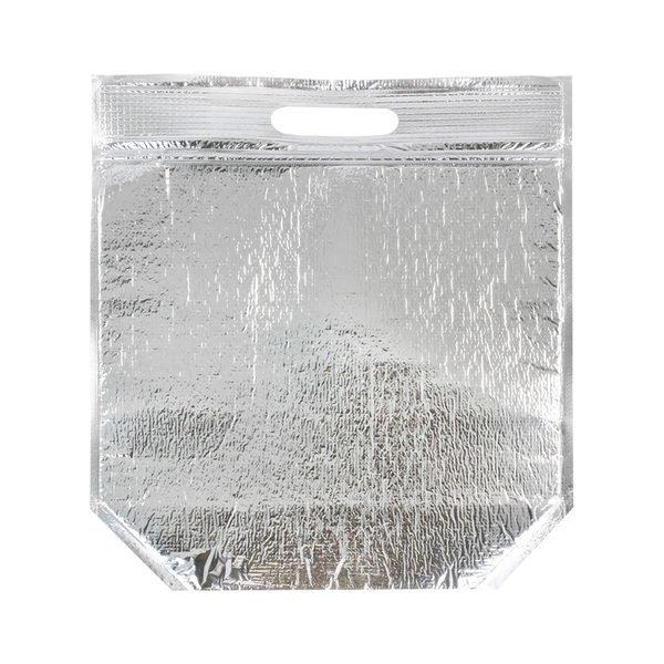 (이룸팩) 은박보냉팩 손잡이 지퍼형(대)50개 보냉파우치 보냉백