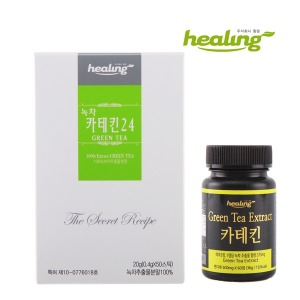 힐링 카테킨 2종 스틱/정 천태산 녹차추출물분말