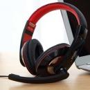 VISVI 마이크헤드셋 헤드폰 어학용 교육용 게임 USB용
