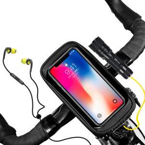 자전거 핸들바 가방 핸드폰 휴대폰 거치대 수납가방