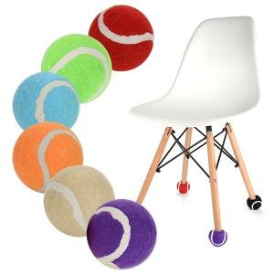 예쁜10칼라 층간소음방지 의자다리커버테니스공발싸개