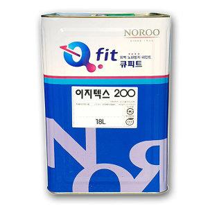 노루페인트 외부용 수성페인트이지텍스 200 18L 백색