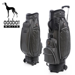 아다바트 화이트 여성용 골프백/캐디백/골프가방