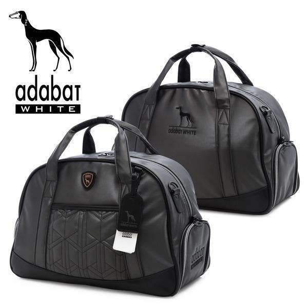 아다바트 화이트 골프백/보스턴백/골프가방/옷가방