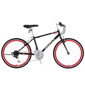 스마트 주니어 학생용 21단 하이브리드 자전거 24셔플