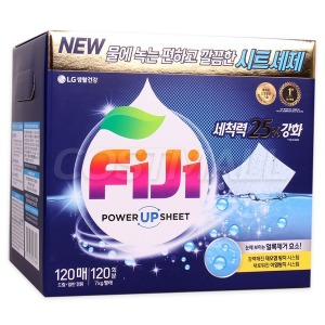 피지 파워 종이세제 120매 / 시트세제 /FIJI/코스트코