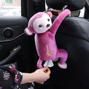 걸이형 차량용 원숭이 티슈 휴지 케이스 커버