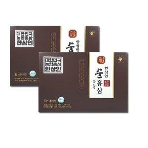 NEW 농협홍삼 6년근 한삼인 순홍삼 2박스(30포+30포)