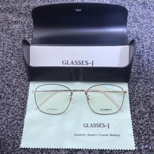 국산 수제 안경 가벼운 7g 베타 티타늄 안경테 사각형