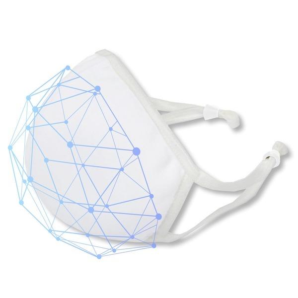 면마스크 필터교체형 3D 입체 화이트 필터교체마스크