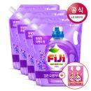 FiJi 라벤더젤 액체세제 리필 1.5L 4개 +300mlx2