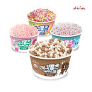 구슬아이스크림 초코5+딸기5+스윗5+레인보우3 (18개)