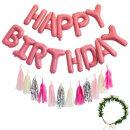 생일파티세트HC_쁘띠(핑크) / 생일파티풍선