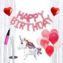 생일파티세트HB_유니콘(핑크) / 생일파티꾸미기
