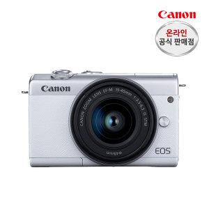 캐논 EOS M200(15-45mm) 화이트 +SD64G+가방+리더기