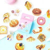 스위트 브런치 빵 케이크 스티커 다이어리 꾸미기