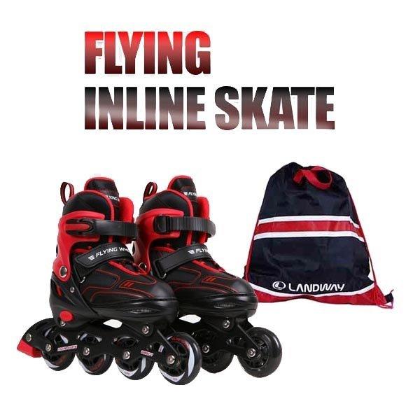 플라잉 인라인 스케이트+가방포함/플라잉 아동 인라인