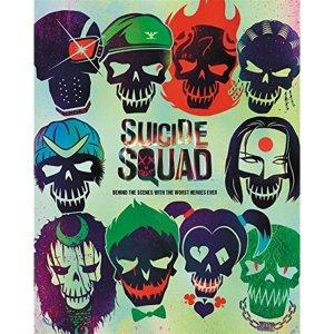 할리퀸 마스크 증정  Suicide Squad 수어사이드 스쿼드 공식 컨셉 아트북 : Behind the Scenes With...
