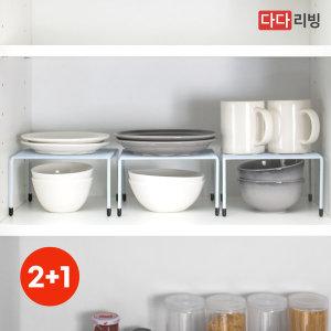 레이 접시정리대 (소) 화이트 /주방 싱크대 선반