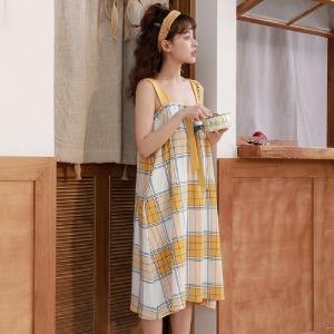 끈나시원피스/홈웨어/잠옷/원피스잠옷/여성잠옷