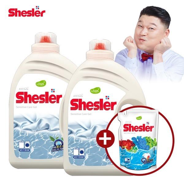 강호동의 쉬슬러 센스티브 고농축 세탁세제 3.05L 2개