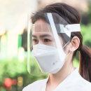 안면보호필름 마스크 면 패션 모자 투명 얼굴 보호