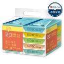 여행용티슈 70매 10입 1팩 휴대용 화장지