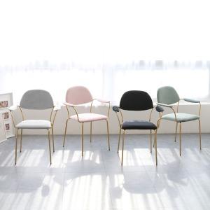 아그네스 골드암 벨벳 체어 인테리어 식탁 카페 의자