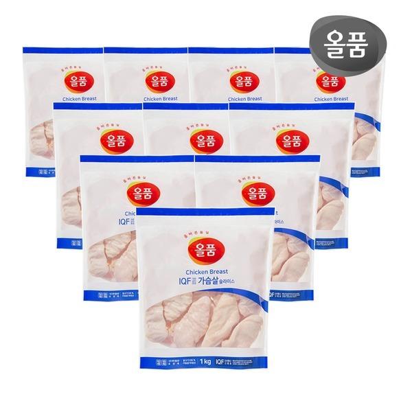 올품 닭가슴살 10kg / 하림 IFF 닭가슴살 10kg