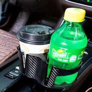 챠량용2단멀티컵홀더 컵수납 컵홀더거치대 차량용홀더