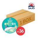 살코기플러스참치 100g 1박스(36개) /안심따개/찌개