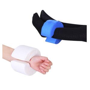 사지케어 환자간병 손목 발목 쿠션패드 1개