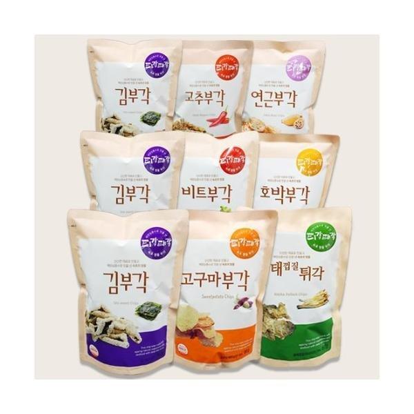 티각태각 부각 60g 3봉 김부각 외 혼합구성