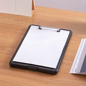 A4 클립보드 화일케이스(블랙) 다용도클립보드 문서클