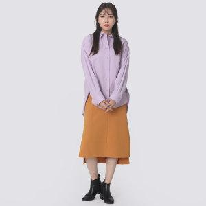 면혼방 루즈핏 스트라이프 셔츠 2F2A0WSH092W