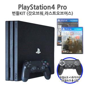 듀얼쇼크+1  PS4 Pro 1TB 라오어 갓오브워 번들킷