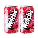 웰치스 딸기 355ml x 24캔 / 음료수 탄산음료