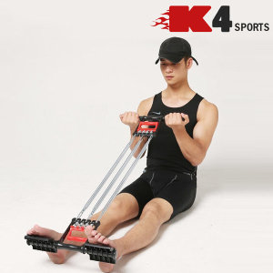 K4스포츠 K4-89 완력기페달용가슴팔운동근력튜빙밴드
