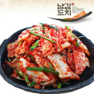 국산 생 겉절이 2kg 아삭하고 맛있는 김치/당일제조