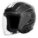 그라비티 G-7 블랙 화이트 오픈페이스 헬멧 용품