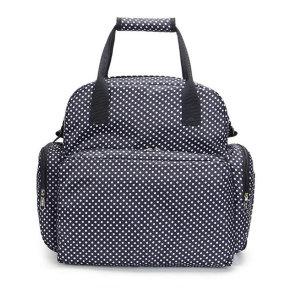도트 기저귀가방 대형 넉넉한 수납