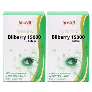 하이웰 프리미엄 빌베리15000+루테인 60베지캡슐x2