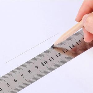 스테인레스 스틸 제도용 커팅 커팅용 제도 자 20cm