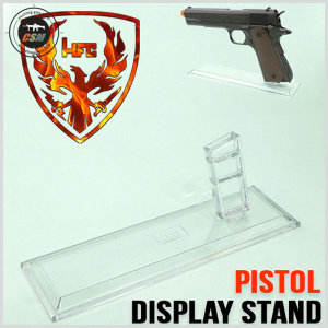 Clear Display Stand / Pistol