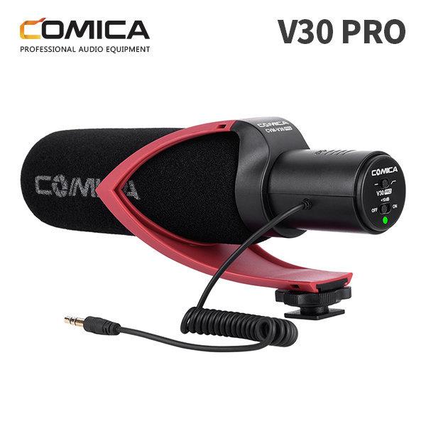 COMICA 코미카 지향성 컨덴서 유튜브 마이크 V30PRO