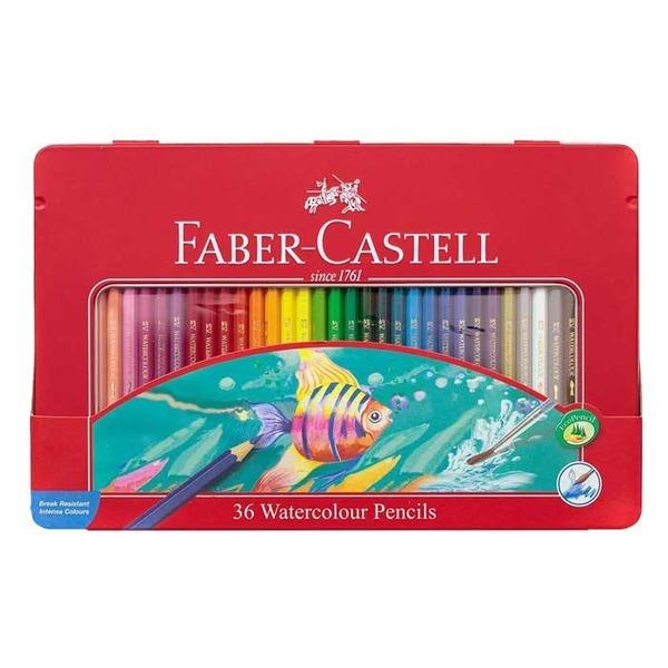 파버카스텔 수채색연필 36색 틴케이스