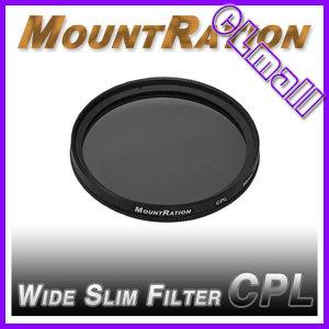 마운트레이션 SLIM CPL 필터 30mm (WIDE슬림) 마운트레