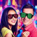 LED 파티 이벤트 클럽 축제 신기한 특이한 인싸안경
