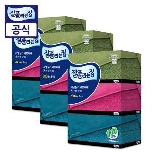 잘풀리는집 천연펄프 미용티슈 280매 9개 /각티슈
